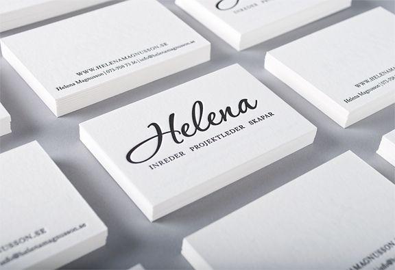All sizes | Business card for swedish Interior designer, via Flickr.
