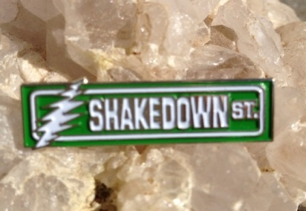 Grateful Dead Hat Pins | Shakedown Street Pin on Sale at Sunshine Daydream