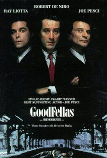 Henry Hill and his friends work their way up through the mob hierarchy.    Director: Martin Scorsese  Writers: Nicholas Pileggi (book), Nicholas Pileggi (screenplay)    Stars: Robert De Niro, Ray Liotta and Joe Pesci