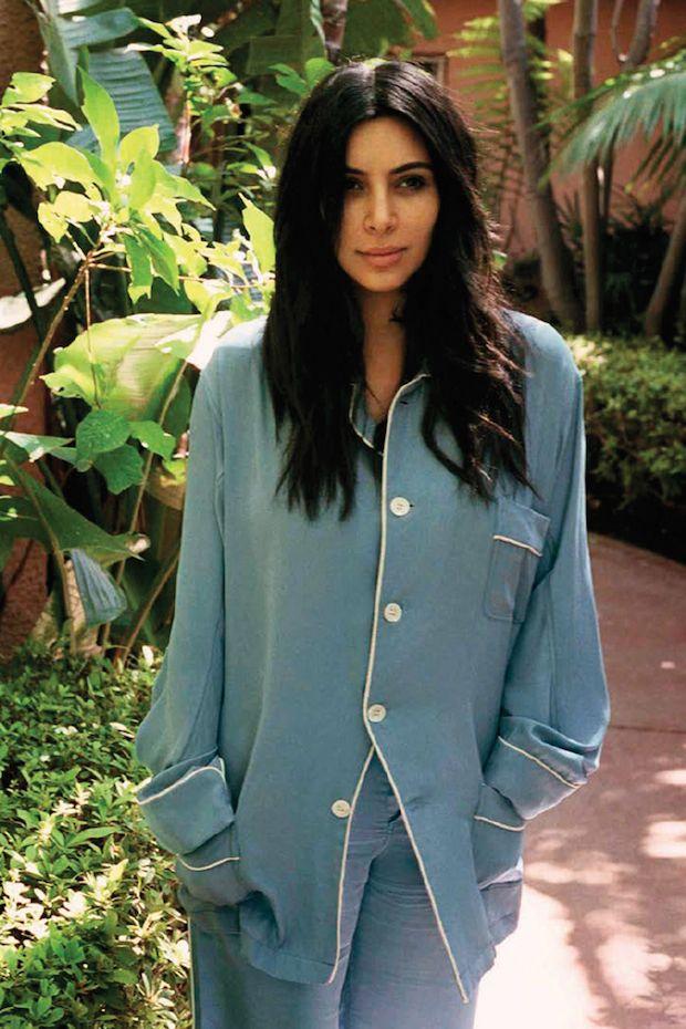 Kim Kardashian wears no make up in the Vogue Spain Editorial