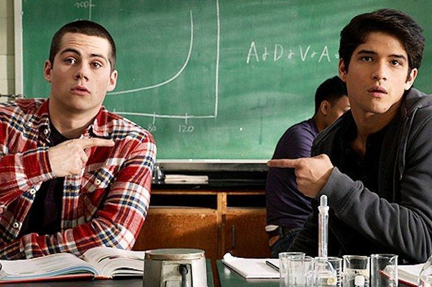"21 Reasons Why Scott And Stiles Are The Cutest Couple On ""Teen Wolf"" ~Sure they are cute but Sterek all the way yo!"