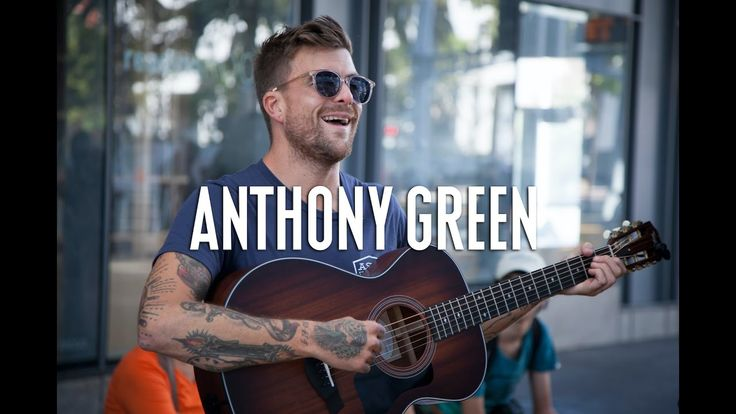 Anthony Green of Saosin/Circa Survive walks into a trolley and performs for random commuters