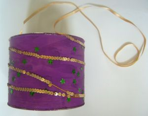 Marching Drum craft for Mardi Gras and other instruments as well.