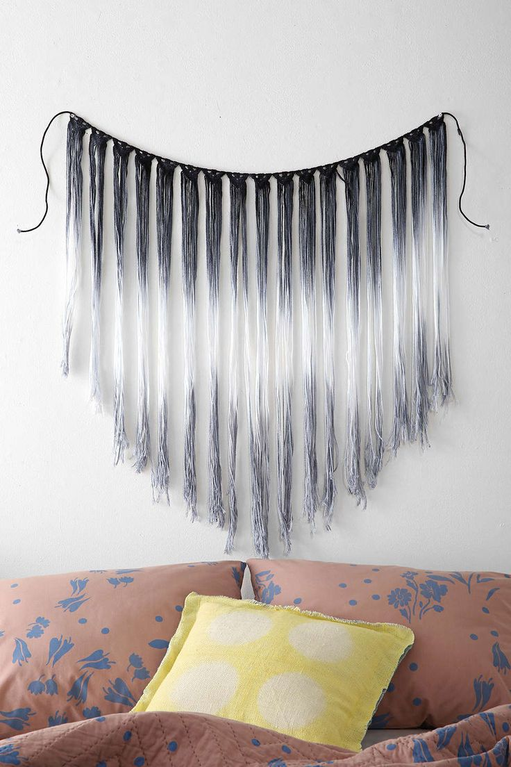 Fade-Out Macrame Wall Hanging                                                                                                                                                                                 More