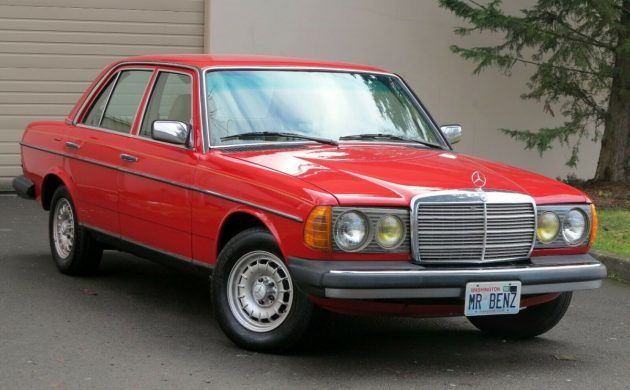 Rare In Red: 1985 Mercedes 300D | Barn Finds | Mercedes benz