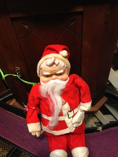 Vintage Christmas Santa Claus at Scranberry Coop
