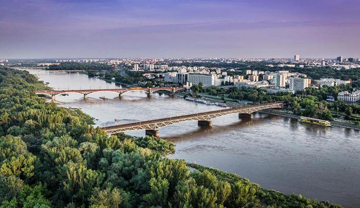 Wisla Krakow: Warsaw,Wisla River Poland