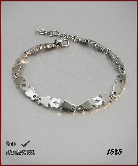 Axcesi 1525  Stainless steel chain bracelet thickness 6 by Axcesi