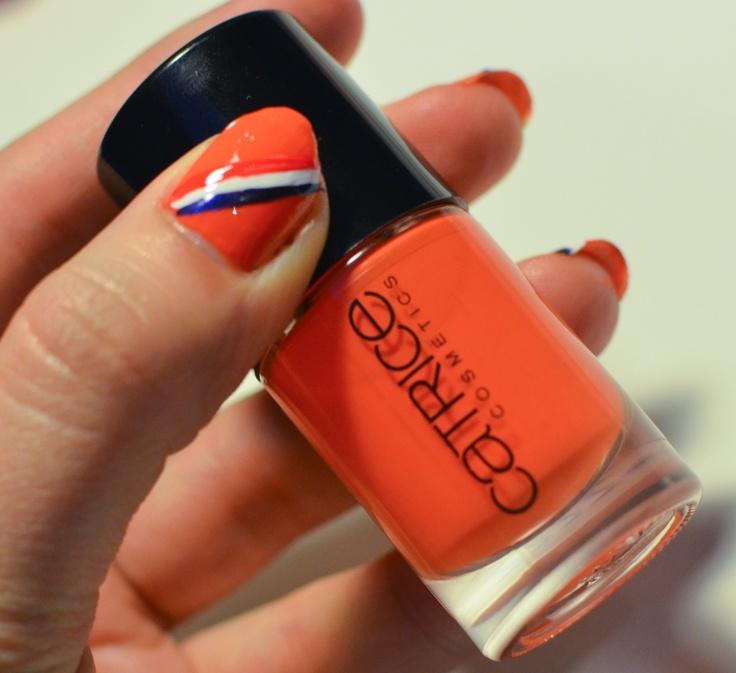 koninginnedag nagels-6  #koningsdag #koninginnedag #oranje #holland #nederland #junkydotcom