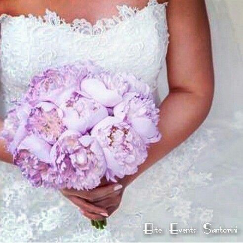 Lebanese wedding in Santorini - lavender lilac peonies bridal bouquet by Elite Events Santorini , Athens, Santorini, Greece #Lavender #Glamorous #Lebanese #Wedding by  #eliteeventsathens #eliteeventssantorini #weddingplanner #weddings #flowers #floral #bridalbouquet #peonies #event #design #decor #styling #athens #santorini #greece #santoriniwedding #athenswedding #athenianriviera #destinationweddings  #lebanesewedding #armenianwedding #islandvarkiza #islandartandtaste #weddingsingreece…