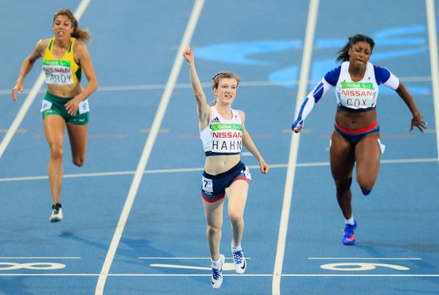 Sophie Hahn wins gold with Kadeena Cox winning bronze