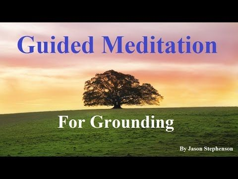 Guided Meditation: Centering Yourself | A Grounding Mind Meditation for stress, sleep, anxiety - YouTube