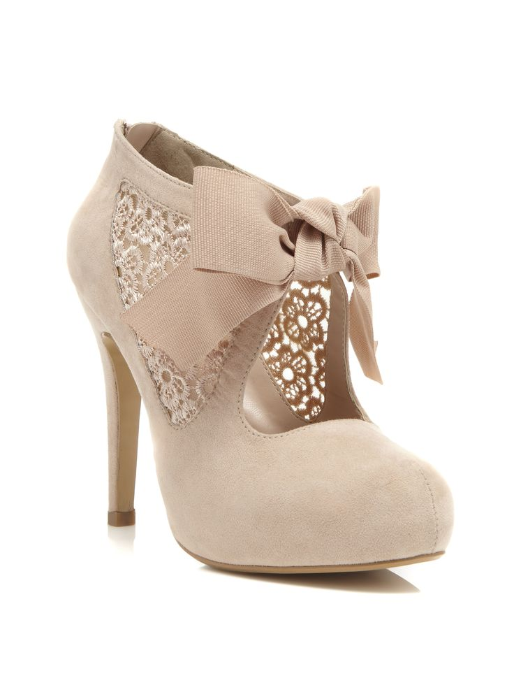 nude glitter shoes | Style pick: Miss Selfridge Sally Town shoe | Dolly Glitter