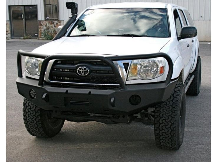 Expedition One Front bumper for 2nd gen Toyota Tacoma at www.lowrangeoffroad.com  / #Tacoma / #LiftedToacoma / #ToyotaOverland /