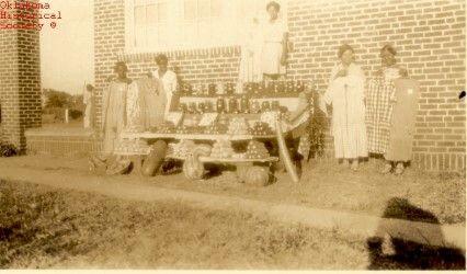 All Black Towns: Women selling produce Oklahoma Historical Society