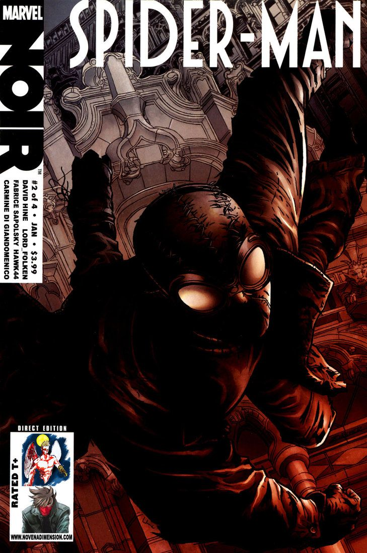50 best good vs evil the battle goes on forever images - Best spider man noir comics ...