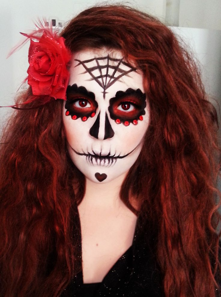 Maquillage halloween http suzy maquillage d 39 halloween pinterest halloween - Maquillage mexicain facile ...