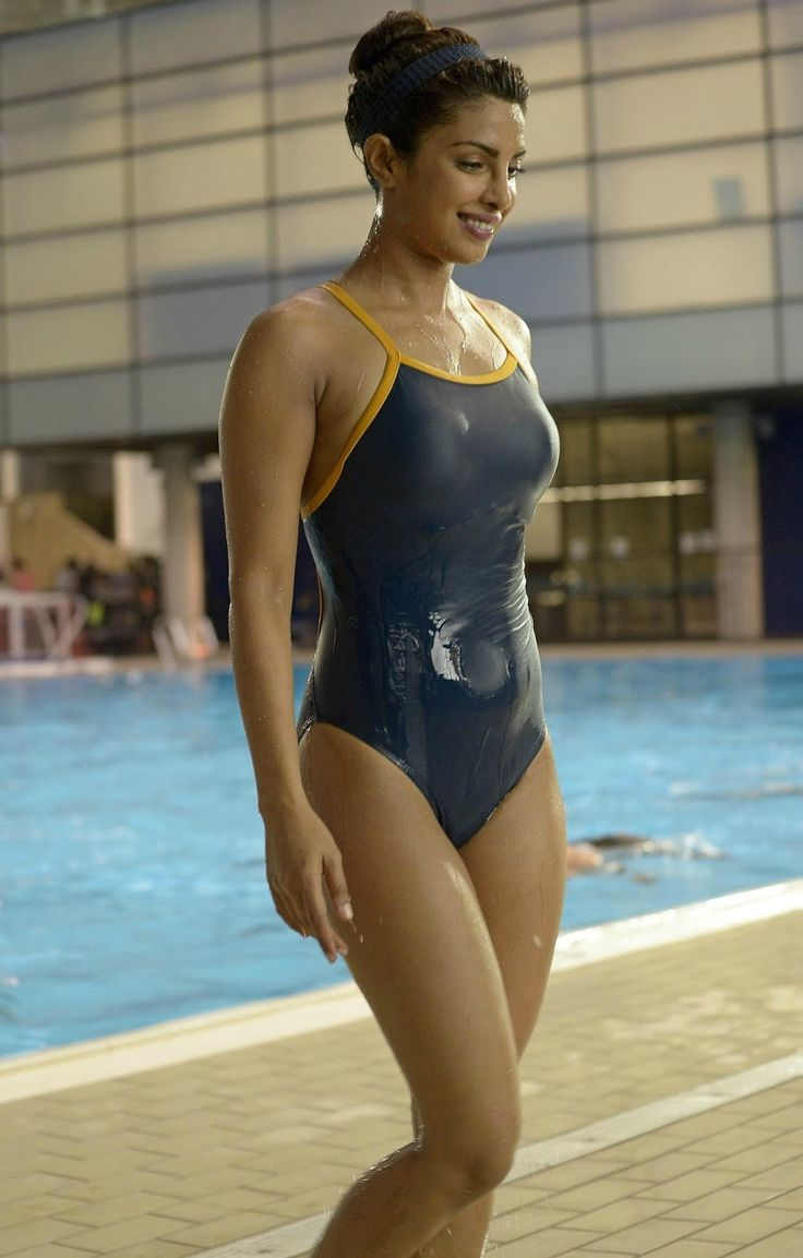 Indian Girls Villa: Priyanka Chopra Displays Her Amazing Figure In Bikini In American Television Thriller Quantico