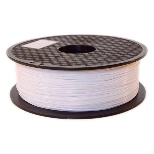 Filament PLA Blanc QUALITE PREMIUM SUPER COULEUR - Filament 3D PLA 1kg de matière blanc diamètre 1,75 mm pour imprimante 3D FDM