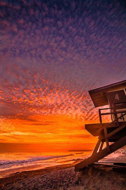 San Clemente Sunset, California