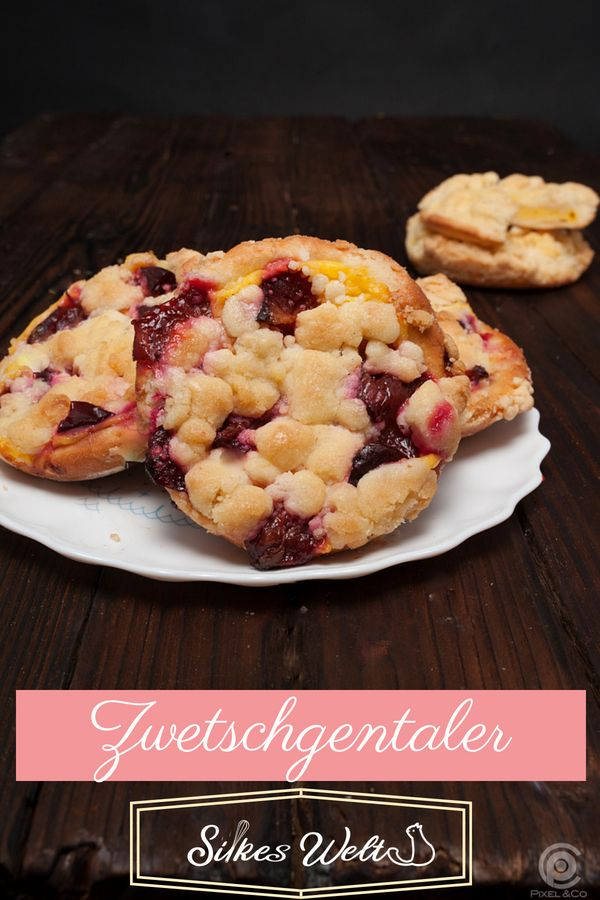 Delicious plum streusel dumplings are made quickly and so juicy   – SilkesWelt