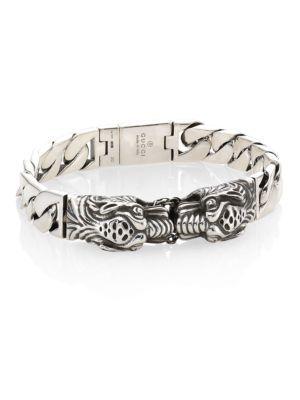 6dce89e0e GUCCI Tiger Head Bracelet. #gucci #bracelet | Gucci Men | Bracelets, Gucci, Silver  bracelets