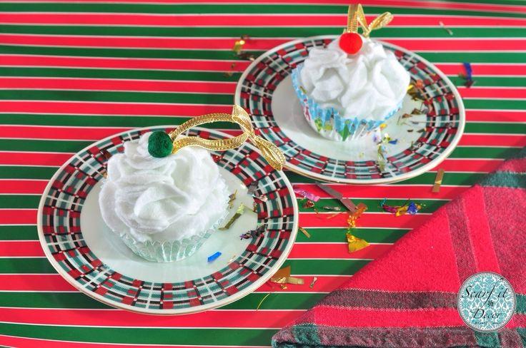 #Chirstmas #Ornaments #Cupcakes