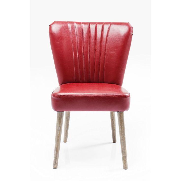 Καρέκλα Filou Red  Καρέκλα σταθερής κατασκευής με άνετο κάθισμα.  €310