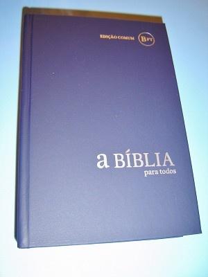 Portugese Bible / A Biblia Para Todos: Edicao Comum / LBE - Loja da Biblia Editorial / BPTi53 Cinza