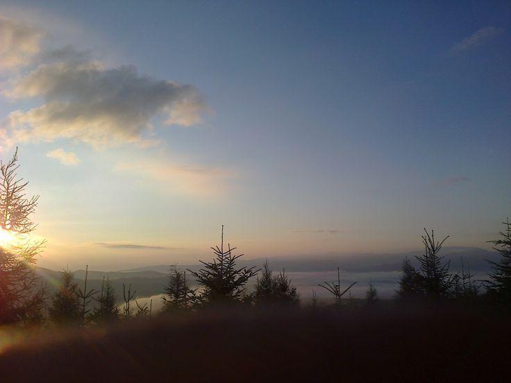 Vychod slnka :)