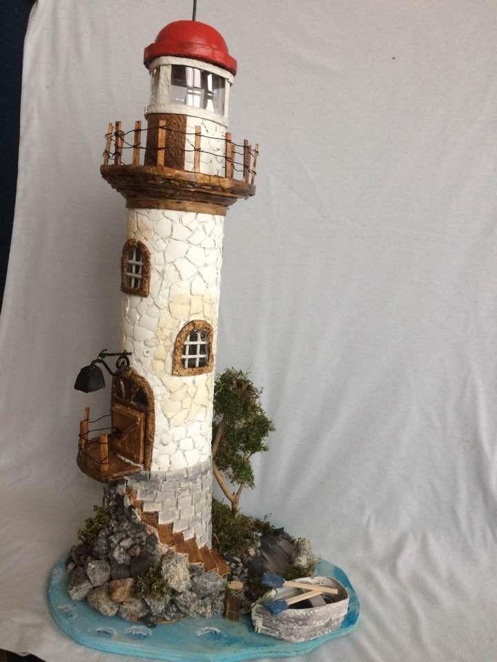 Világító torony romantikus hangulatban
