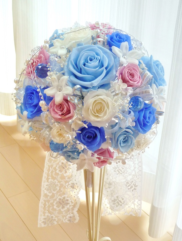 preserved flower WEDDING ITEM