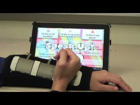 This is way too cool and so techy! this website shows how kids with neurological disabilties have a disadvantage when it comes to swiping the ipad/iphone screens, however an invention was made to solve this problem! since most school now work with ipads in the classroom, this gives these students an advantage to keep up with their peers.