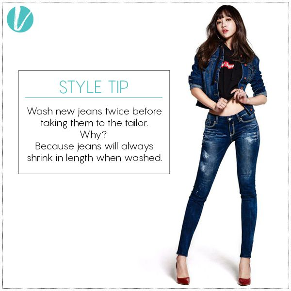How to Maintain your Jeans - Lesson 101 :) #jeans #styletip #denim #howto #maintainance #vilaratip #vilara
