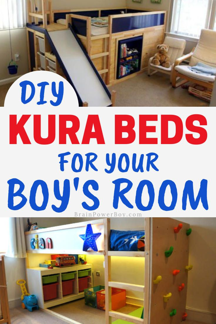 Kura Bed Ikea Hacks For Boys Rooms That Are Super Cool Ikea