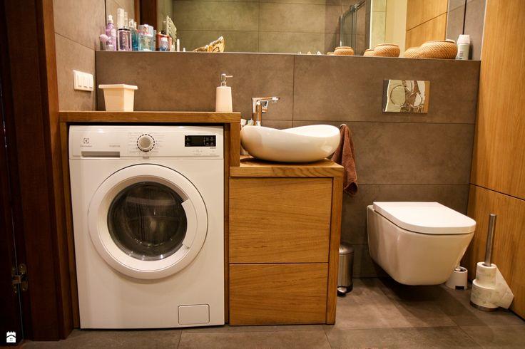 MIOKO Drewniane meble w łazience - zdjęcie od MIOKO - Łazienka - Styl Nowoczesny - MIOKO
