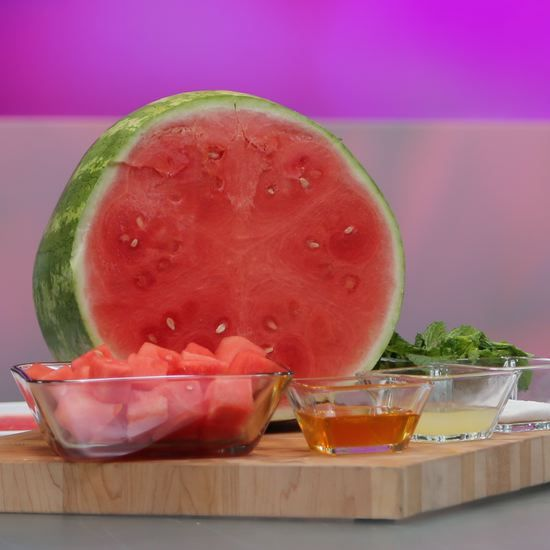 Cool Off With a Vitamin-Packed Watermelon Granita