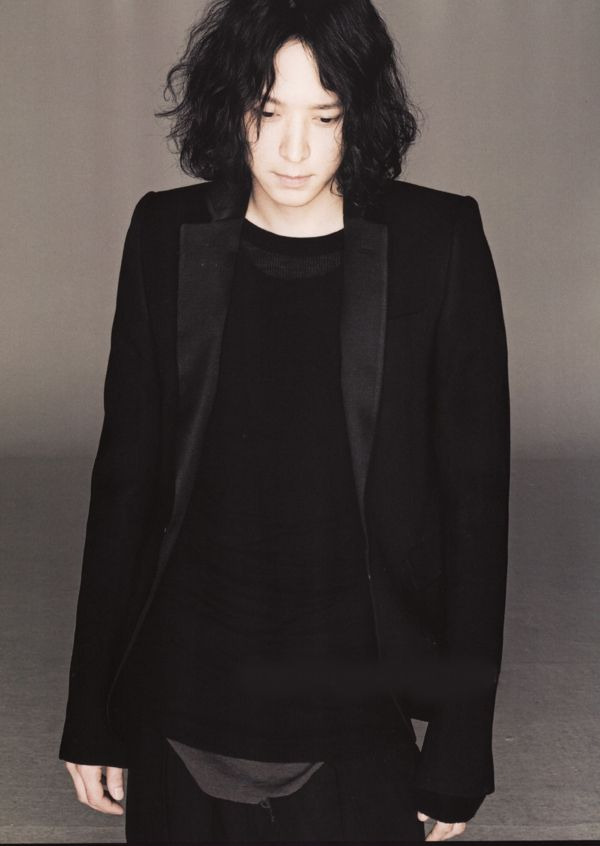 Kang Dong Won in Rick Owens for Numero