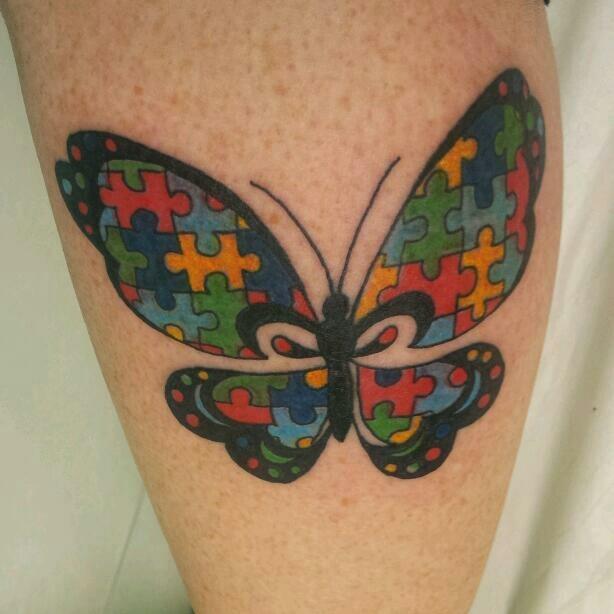 Les 61 meilleures images du tableau autism tattoos sur for Autism tattoos for dads