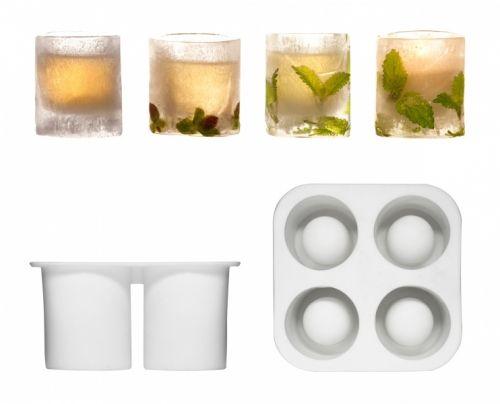 Silikon. Lag dine egne drinkglass i is.Størrelse: 128 x 128 x 63mmEmballasje: Windowbox