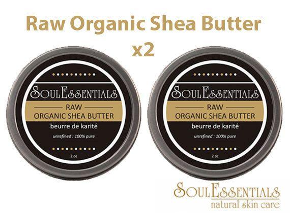 Raw Organic Shea Butter  Vegan Shea Butter  by SoulEssentialsSkin