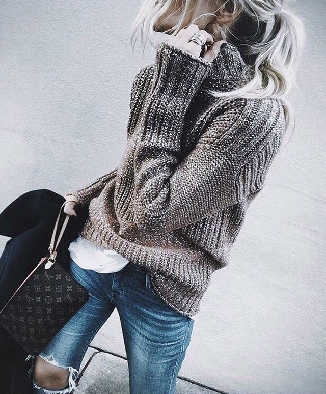 warm and cozy street style