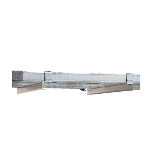metro super erecta 18 in undershelf slide f solid shelf pair by super