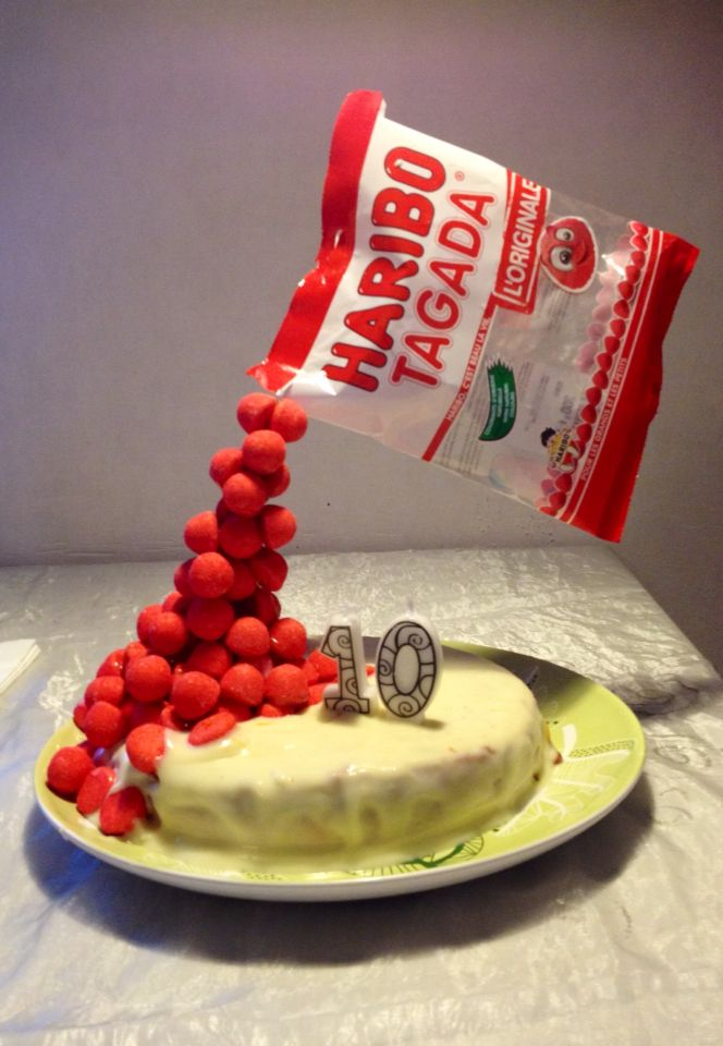 Pop Cake A La Fraise Tagada