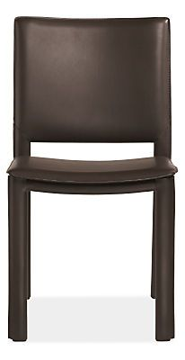 The Madrid chairfeatures leather-wrapped steel construction, making it a stylish and durable option for the dining room, office, or extra seating when guests arrive.$249