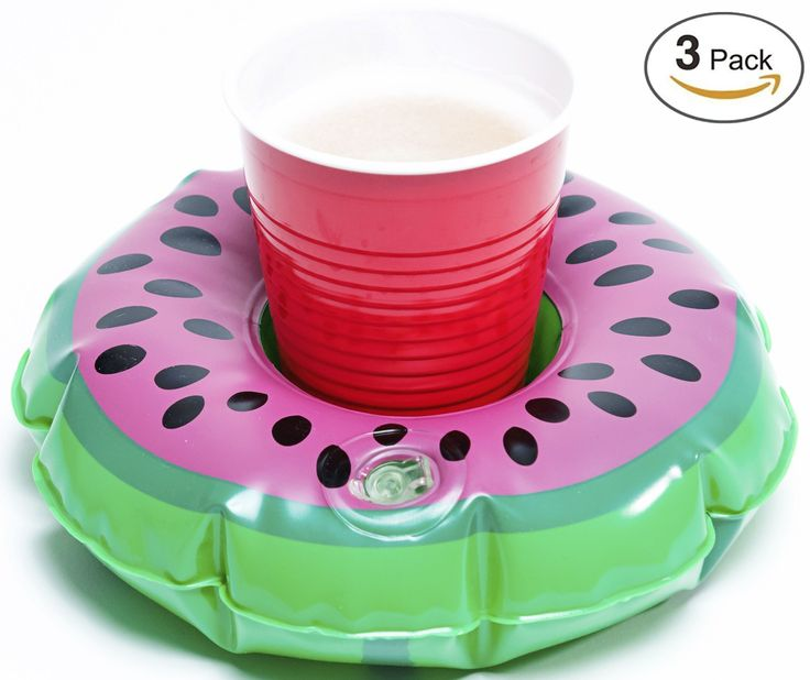 """Inflatable Watermelon Drink Float 