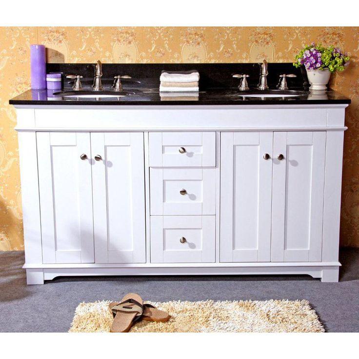 The Art Gallery Legion Furniture W x D in Kingston Stone Double Sink Vanity Top LGN