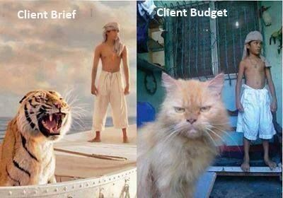 Brief a budżet. Touche!