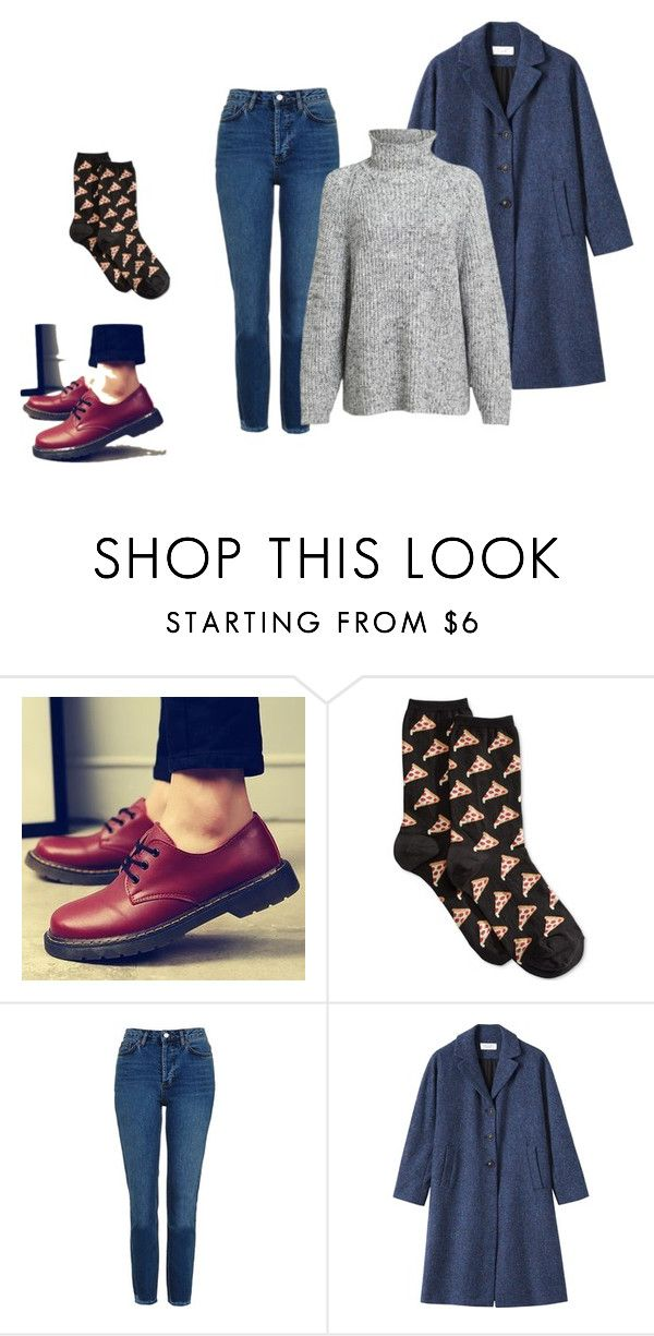 style by missmikey on Polyvore featuring Alexander Wang, Topshop and HOT SOX