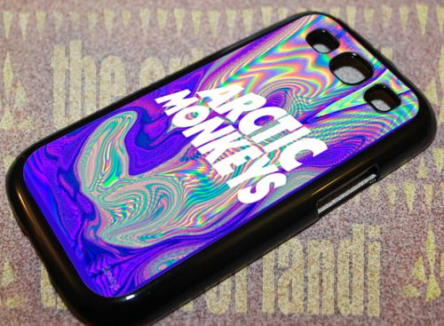 Arctic Monkeys Art For Samsung Galaxy S3 Black Rubber Case